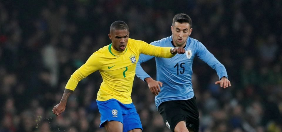 Tottenham fans react to reported interest in Douglas Costa