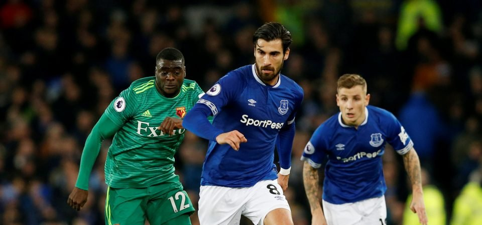 The Chalkboard: Everton need more from Andre Gomes