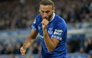 Everton's Cenk Tosun has 'clearly worked very, very hard', says Danny Mills