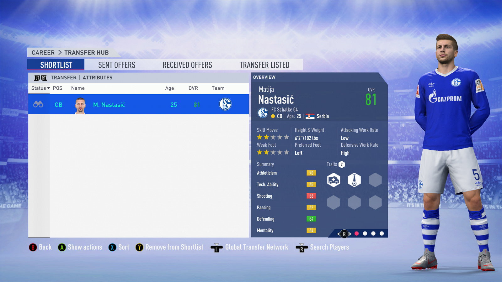 FIFA 19 Career Mode - Everton Nastasic