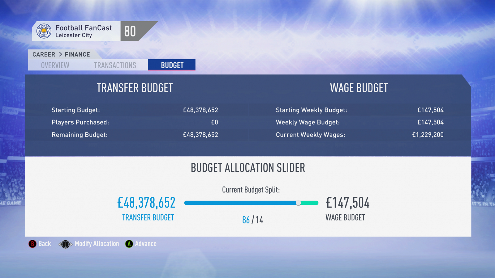 Fifa 19 Leicester City Career Mode Guide Three Mega Buys To Take
