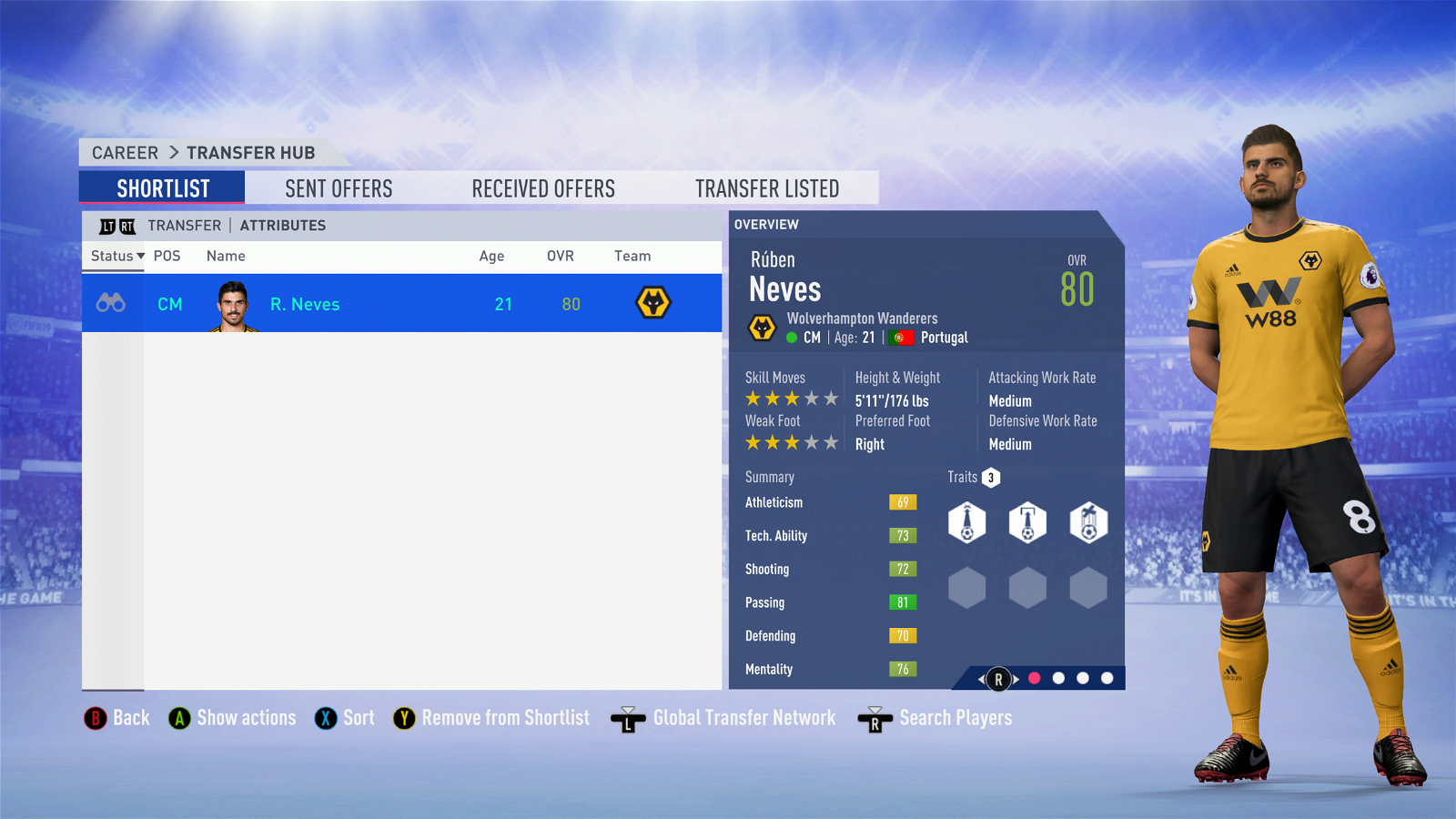 FIFA 19 West Ham Team Guide - Neves