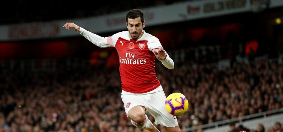 Revealed: 40% of Arsenal fans believe Henrikh Mkhitaryan to be worth no more than £20 million