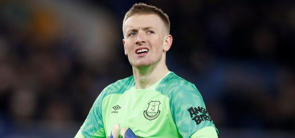 Everton fans slam Jordan Pickford after Sheffield United display