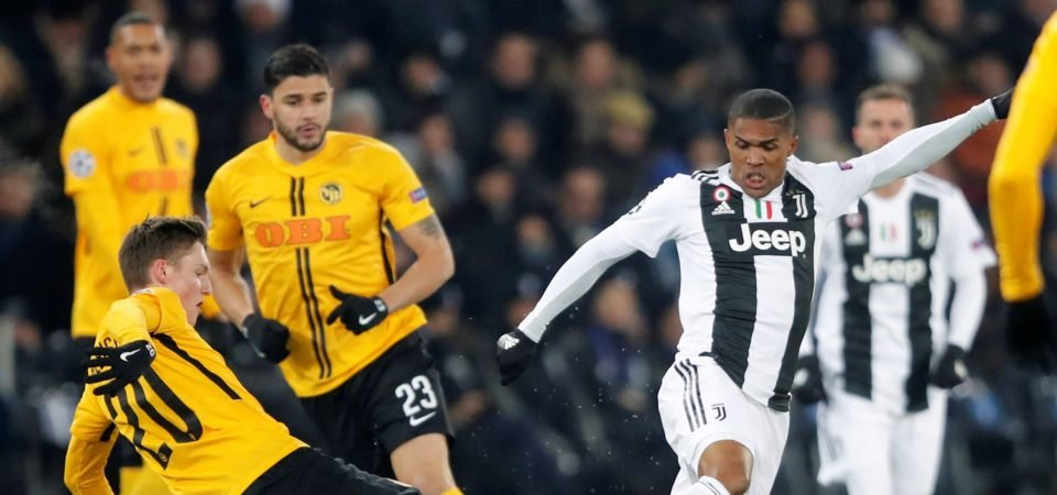 Manchester United getting Douglas Costa as part of Lukaku deal would be a huge coup