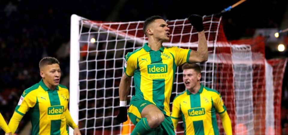West Brom fans were delighted with Kieran Gibbs' contribution vs Sheffield United
