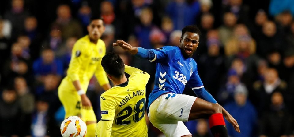 Rangers fans aren't happy with Lassana Coulibaly's performance against Rapid Vienna