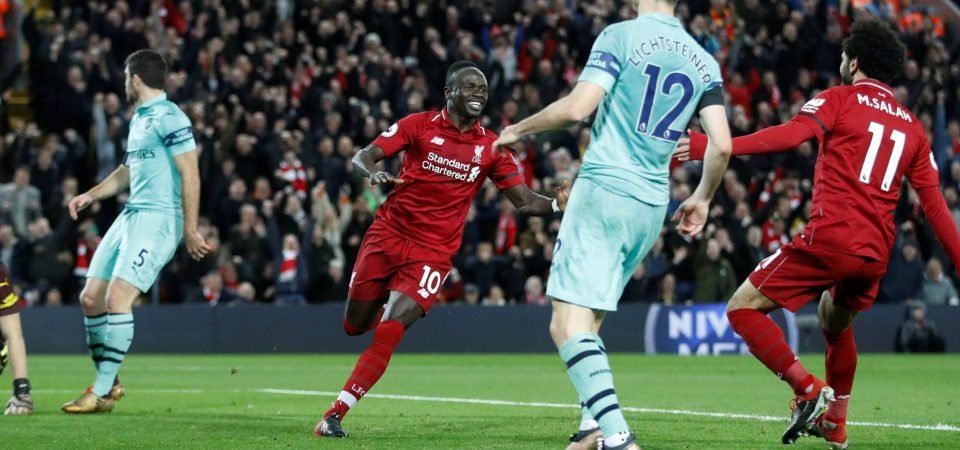 Mane talks up Liverpool 'experience' in title race