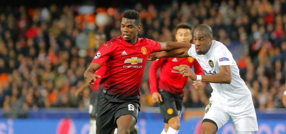 Pogba set to make Manchester United return against Tottenham