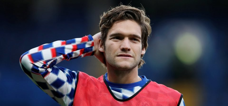 Chelsea fans rip into Marcos Alonso after derby-day performance