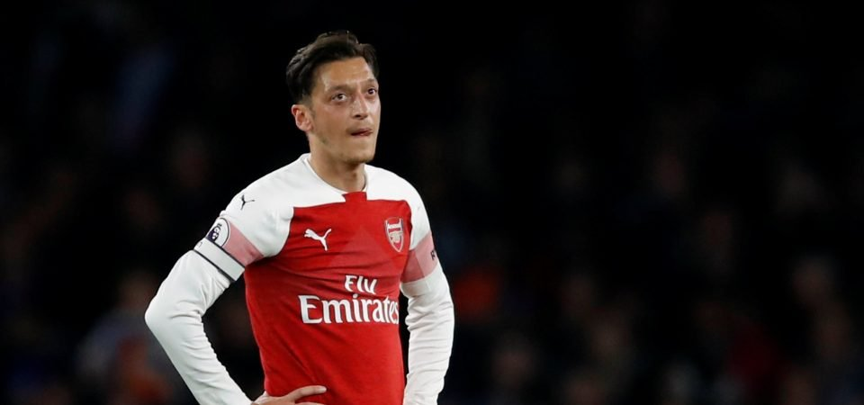 North London derby shows that Mesut Ozil is quickly becoming an outsider at the Emirates