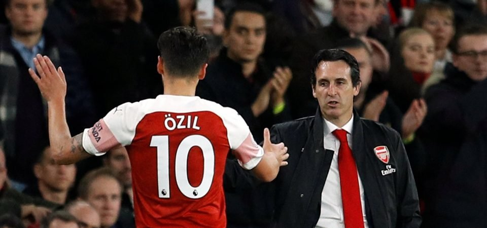 The Chalkboard: Unai Emery's selection headache may give Ozil much-needed chance
