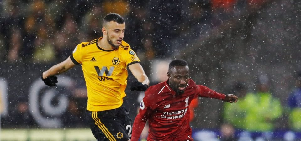 Liverpool fans moan over Naby Keita's position after quiet display against Wolves