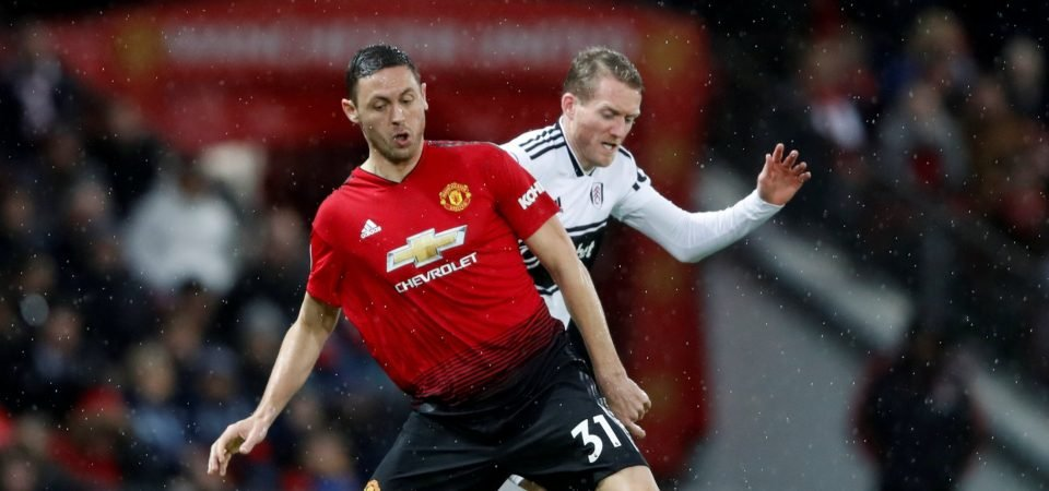 Revealed: 65% of polled Manchester United fans want Nemanja Matic alongside Eric Bailly in defence