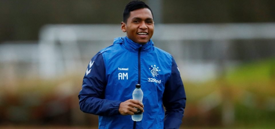 Rangers fans react as Morelos' rise to the top continues