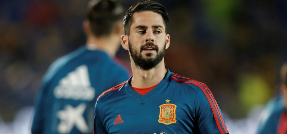 Tottenham will reach the next level if they manage to sign Isco from Real Madrid