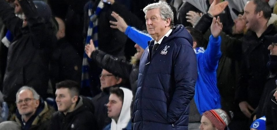 Crystal Palace fans react angrily to Roy Hodgson's comments