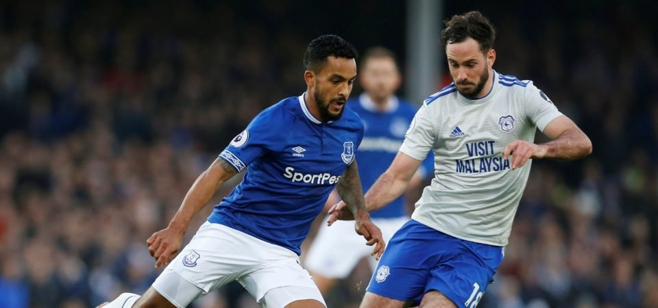 Everton fans blast Walcott display vs Man City