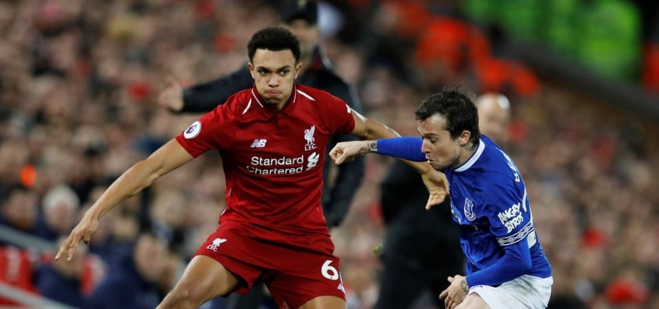 Alexander-Arnold proves just how much the Merseyside derby means with dynamic performance