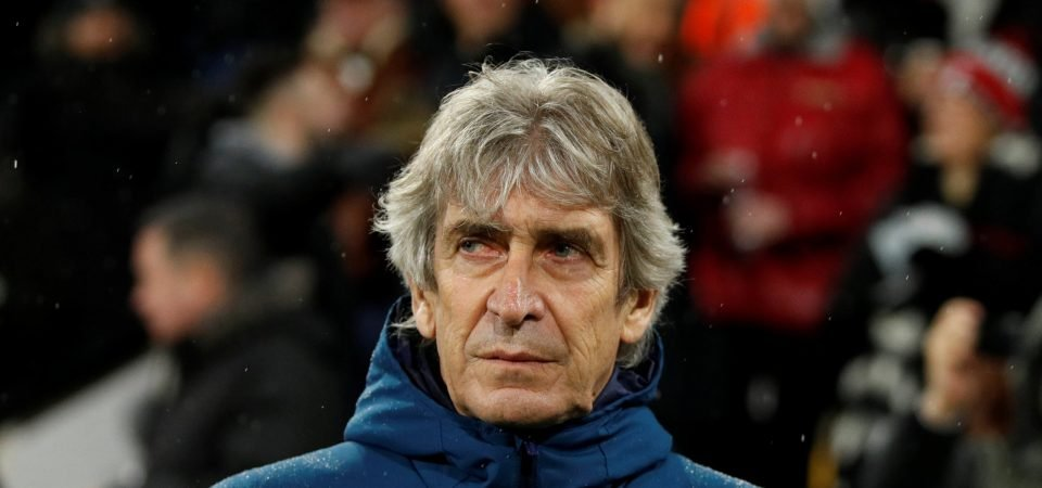 Man City fans laud Pellegrini after shock Monday result