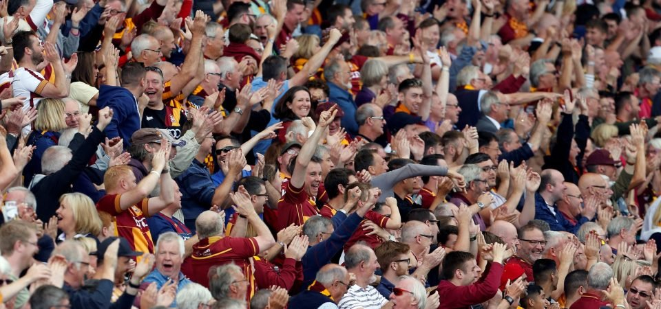 Bradford fans react to potential FA charge