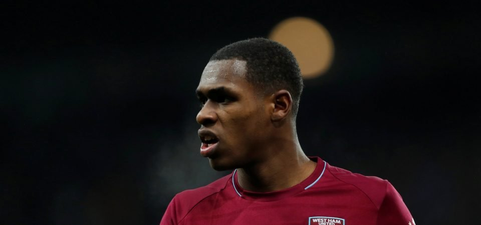West Ham issue hands-off warning over Manchester United target Issa Diop