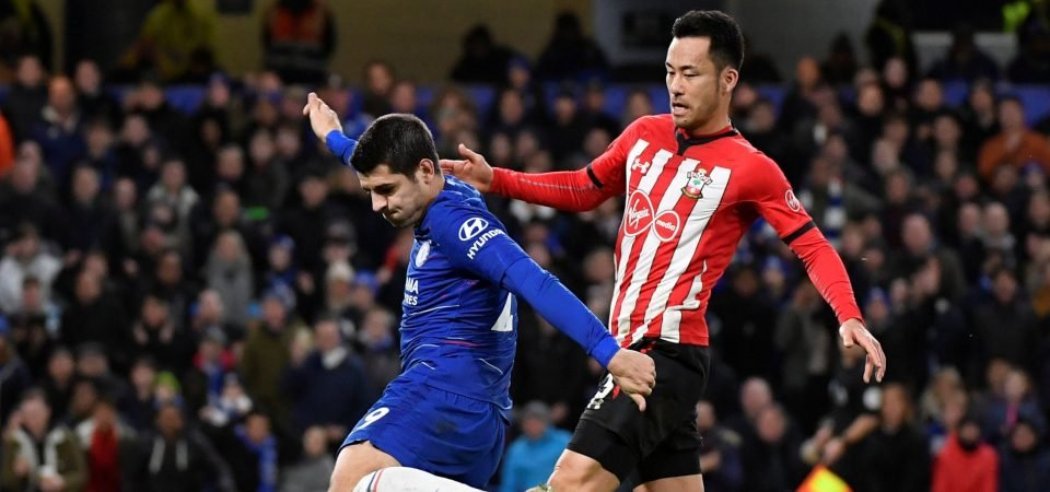 Southampton fans hail Yoshida's performance at Chelsea