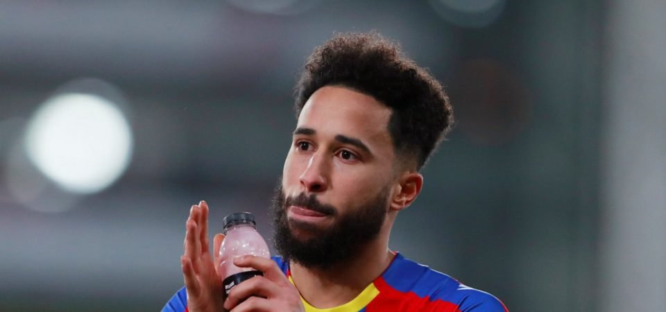 Crystal Palace fans react as Andros Townsend rocket-volley is overlooked