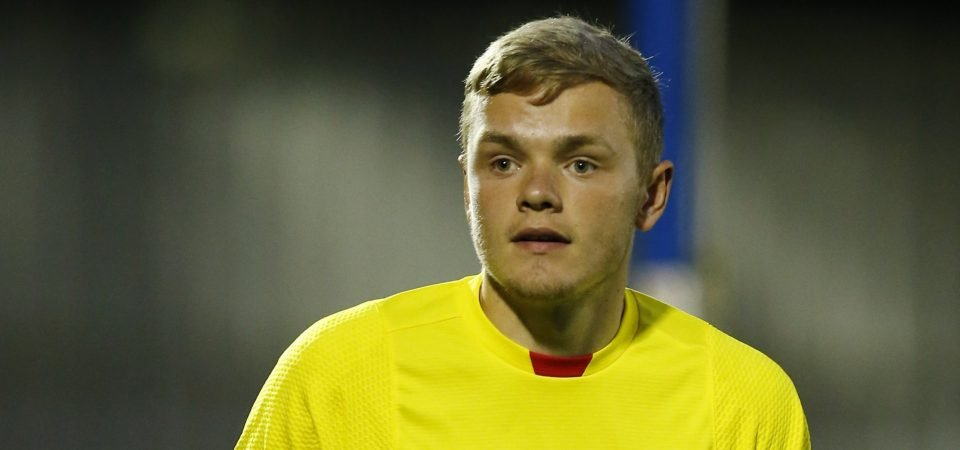 Rangers confirm arrival of Andy Firth
