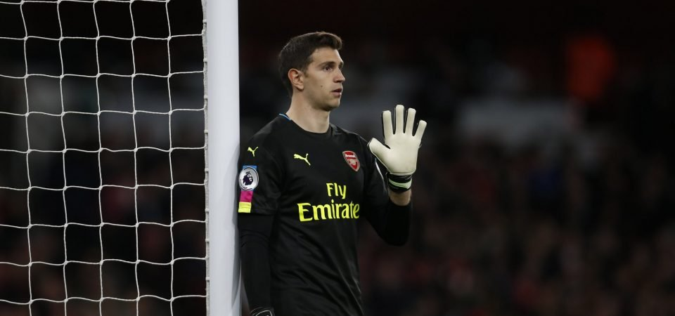 Arsenal goalkeeper Emiliano Martinez admits he could leave the club