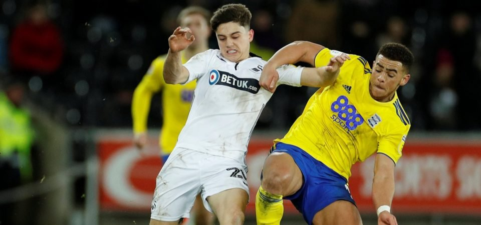 Leeds fans react to Dan James' display at Elland Road on Tuesday night