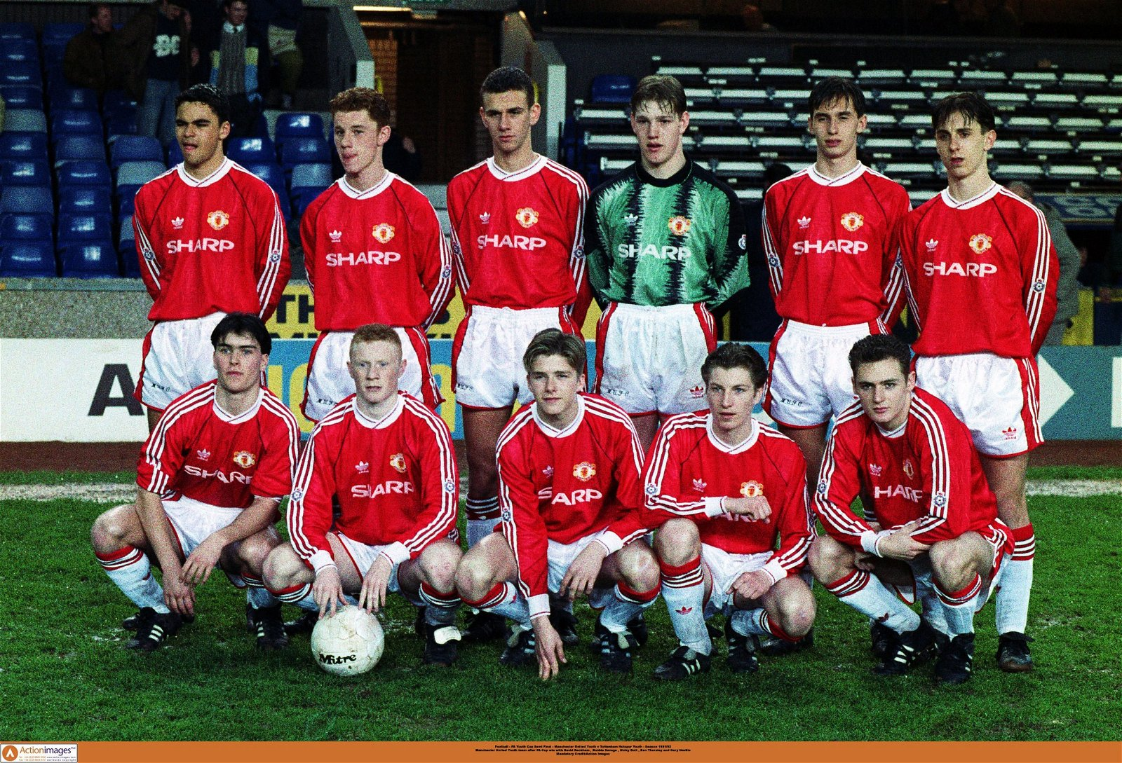 Class of 92 youth team photo