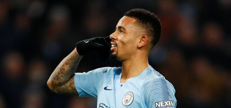 Gabriel Jesus has given Pep Guardiola quite the dilemma