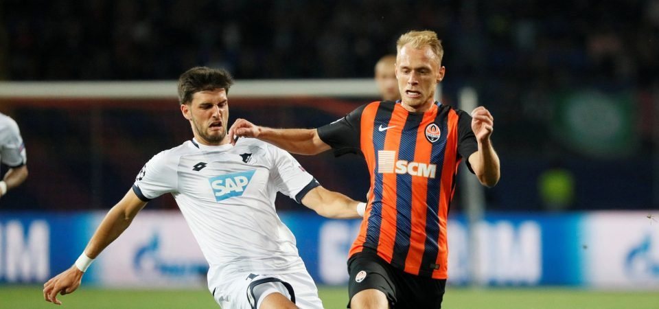 Tottenham want Hoffenheim midfielder Florian Grillitsch to replace Mousa Dembele