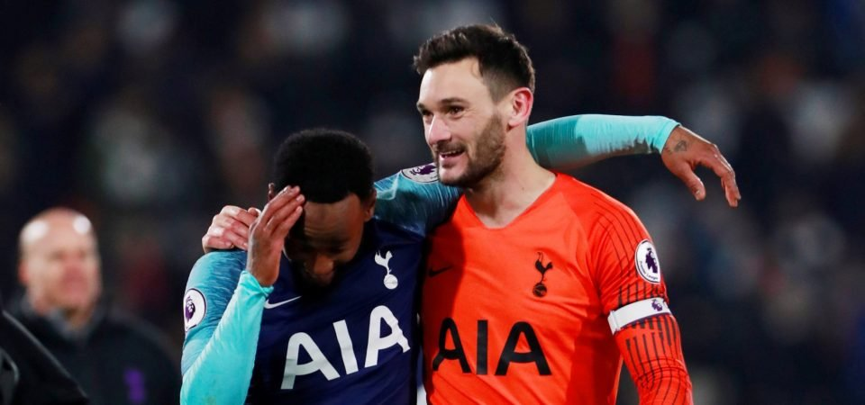 Spurs fans think Hugo Lloris' time is up