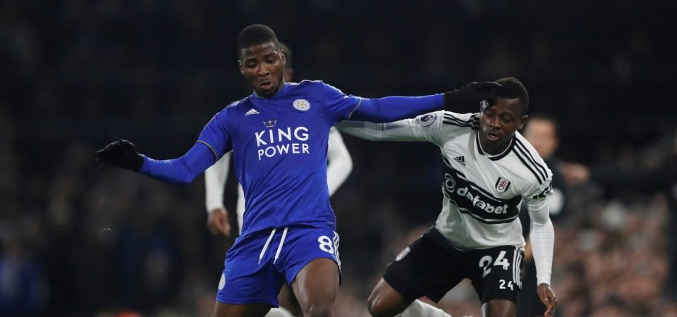 Crystal Palace should make a move for out-of-favour Leicester striker Kelechi Iheanacho