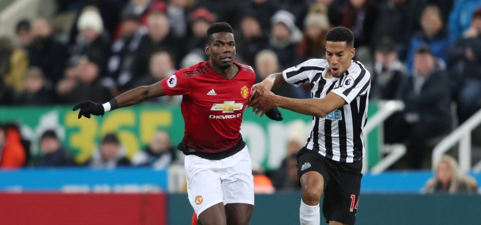 Isaac Hayden stepped up and showed his talent against Manchester United in Ki Sung-yeung's absence
