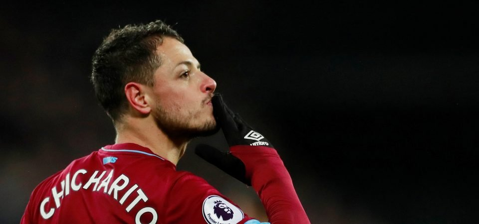 Chicharito up front on his own doesn't work for West Ham