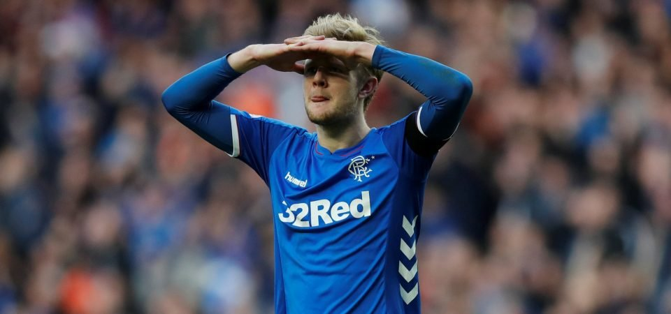 Rangers fans slam 'disgrace' Worrall after latest mistake