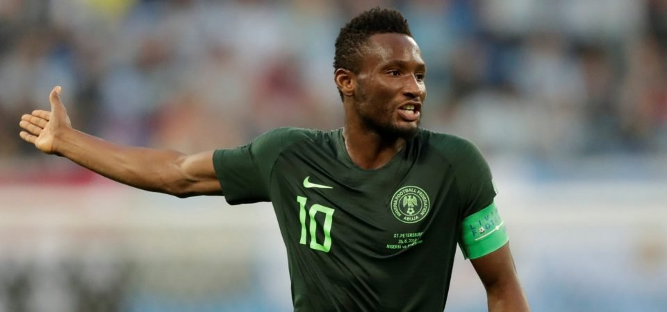 Southampton should swoop for free agent Obi Mikel