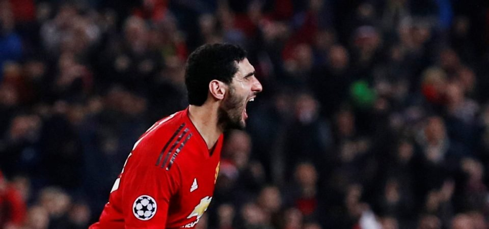 Manchester United fans react to Fellaini departure