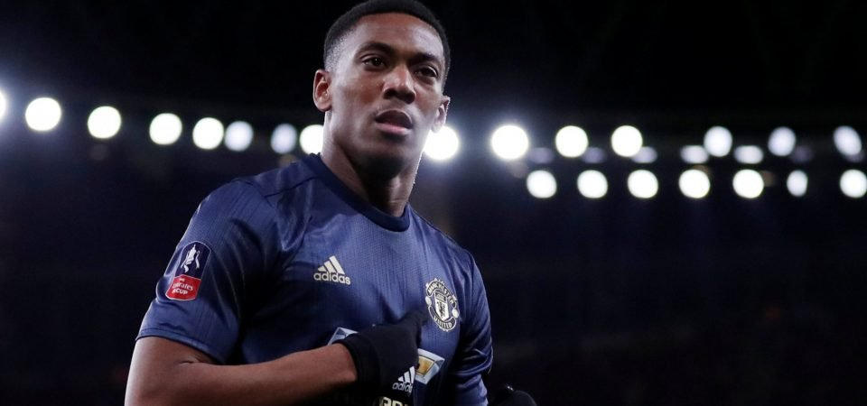 Manchester United fans are thrilled as Anthony Martial signs new five-year contract