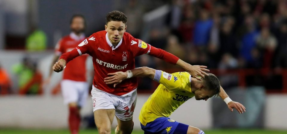 Nottingham Forest facing problems at right-back claims Kenny Burns