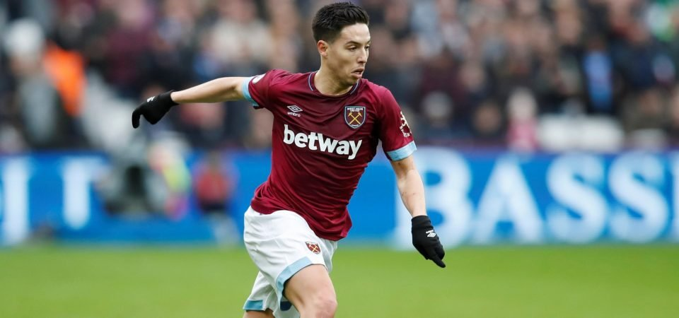 West Ham fans react to Samir Nasri injury update before Everton clash