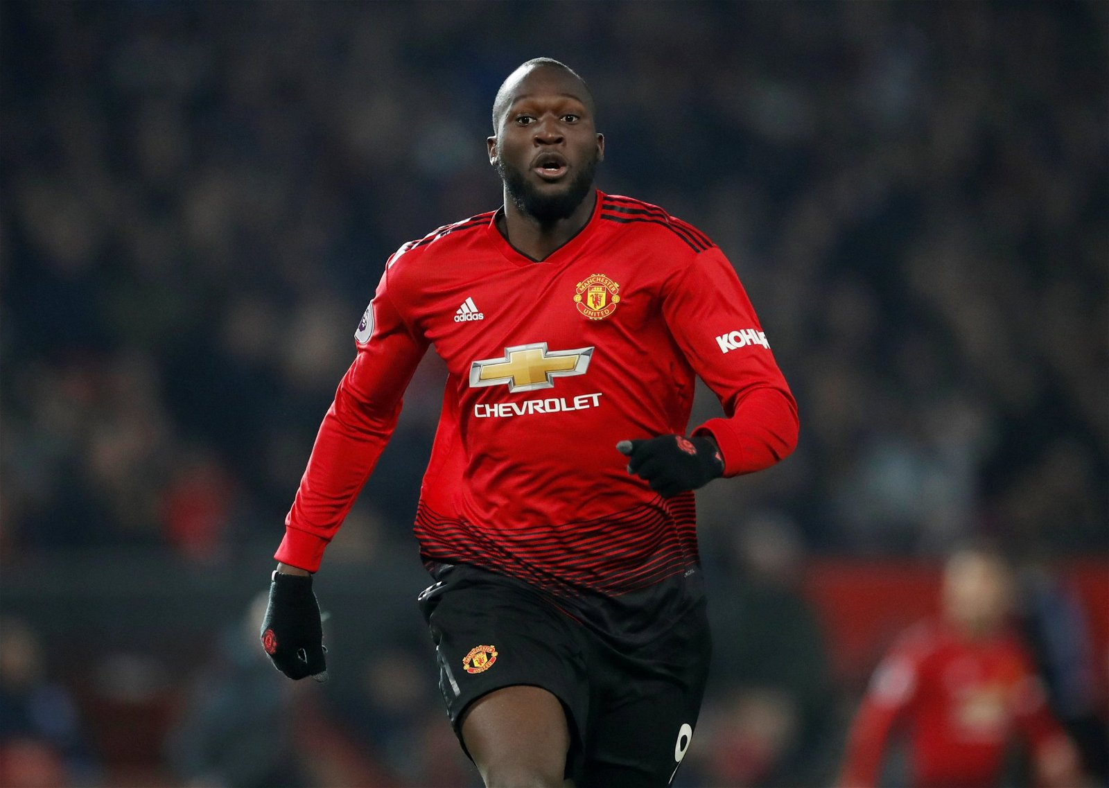 Romelu Lukaku chases the ball - New role for Jose favourite, Title charge: Potential aftermath if Man Utd secure star's future