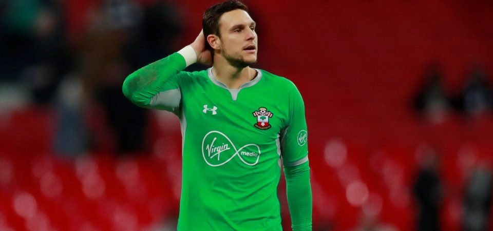 Southampton keeper McCarthy playing dangerous game with pre-Arsenal comment