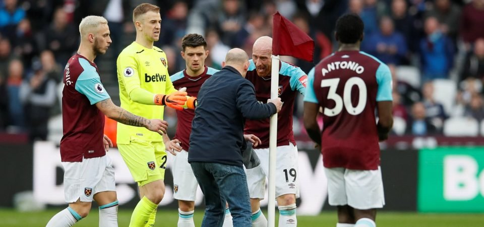 West Ham fans react as club is fined £100,000 for crowd disturbances