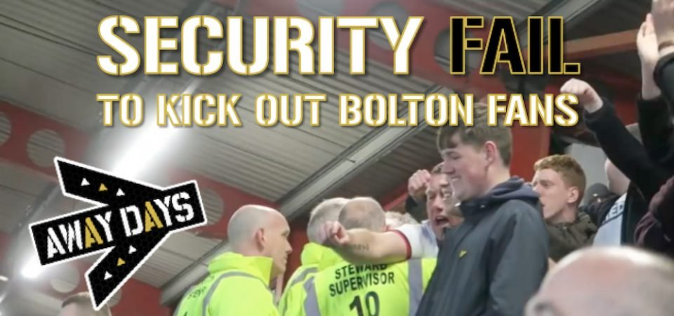 Watch: Thogden and Bolton fans show us what real support look like