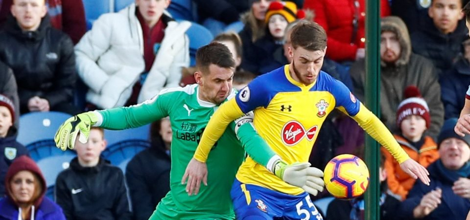 Southampton fans clearly impressed with what they have seen from Callum Slattery