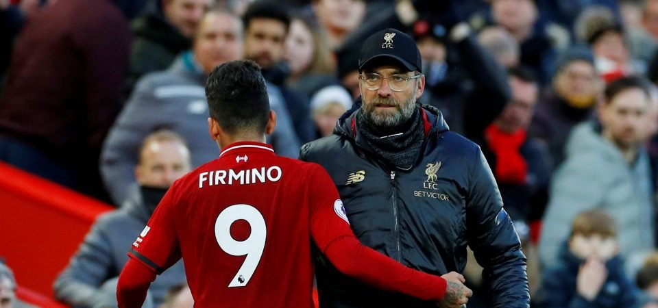 Opinion: Roberto Firmino returned to Liverpool form at exactly the right time for Jurgen Klopp